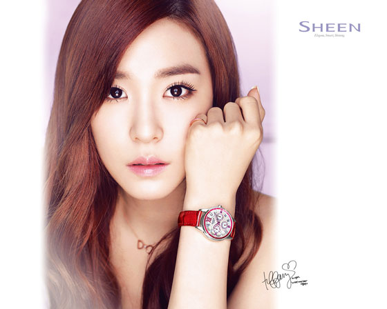 SNSD Tiffany Casio Sheen wallpaper