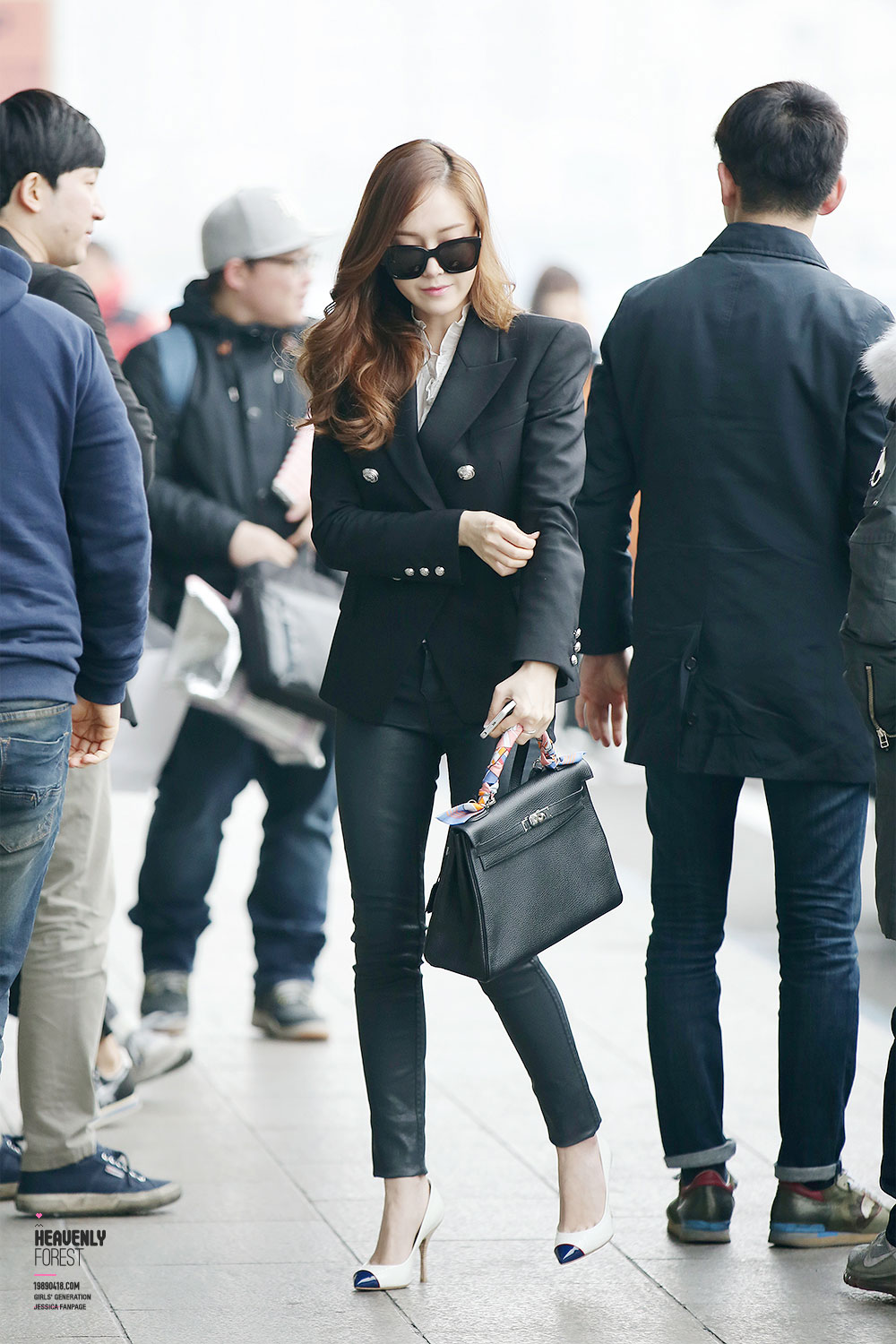 Jessica Mrmr Airport Fashion Snsd Pics