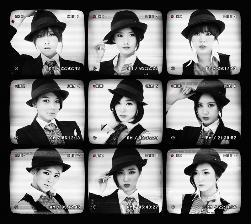 SNSD Mr Mr fedora black white
