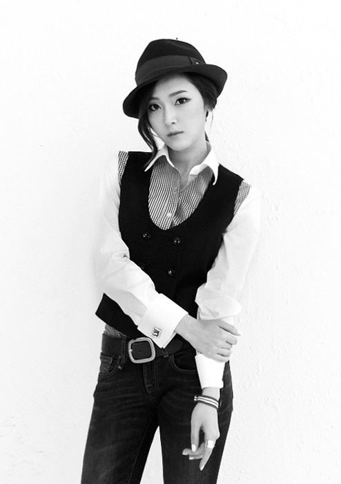 SNSD Jessica Mr Mr black white