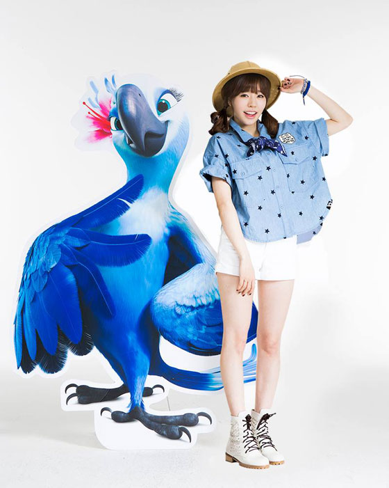 SNSD Sunny Rio 2 movie Korean dub