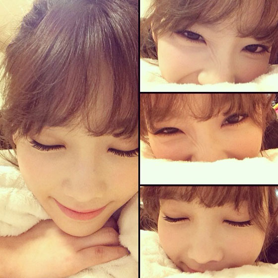 taeyeon february 2014 selca collection snsd pics
