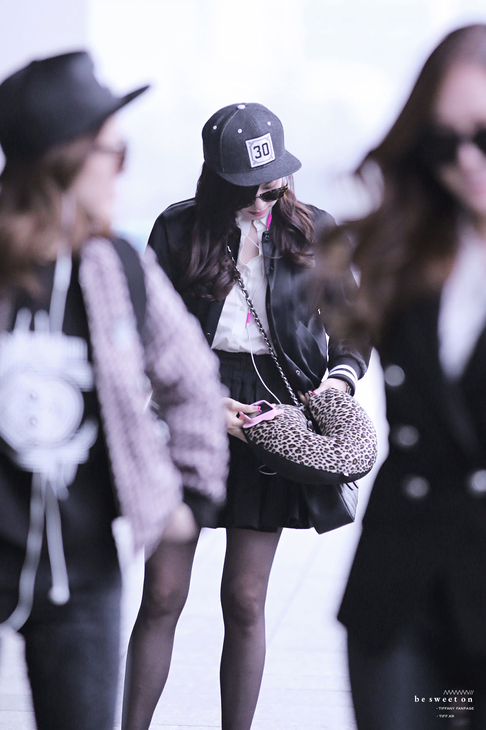 SNSD Tiffany Gimpo airport fashion 140301