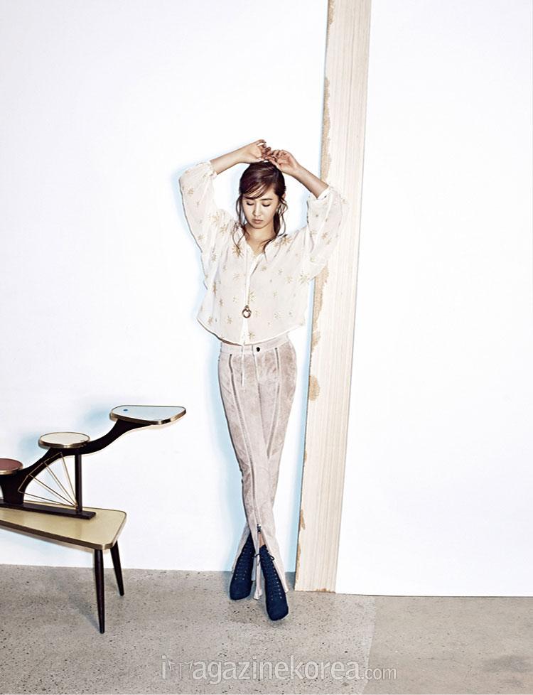 SNSD Yuri Harpers Bazaar Magazine 2014