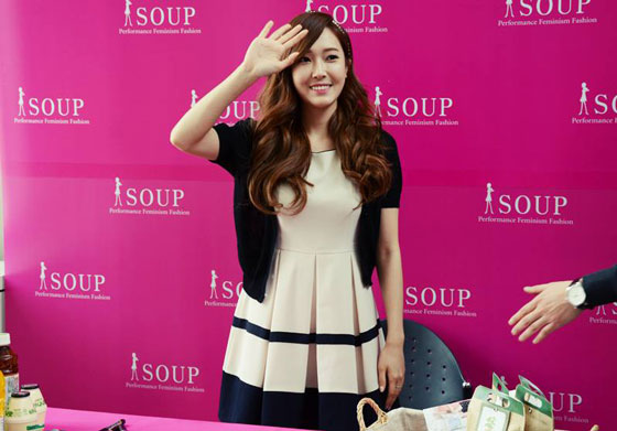 SNSD Jessica Soup fansign event