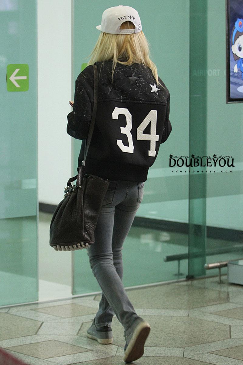 Hyoyeon Gimpo Airport 140301