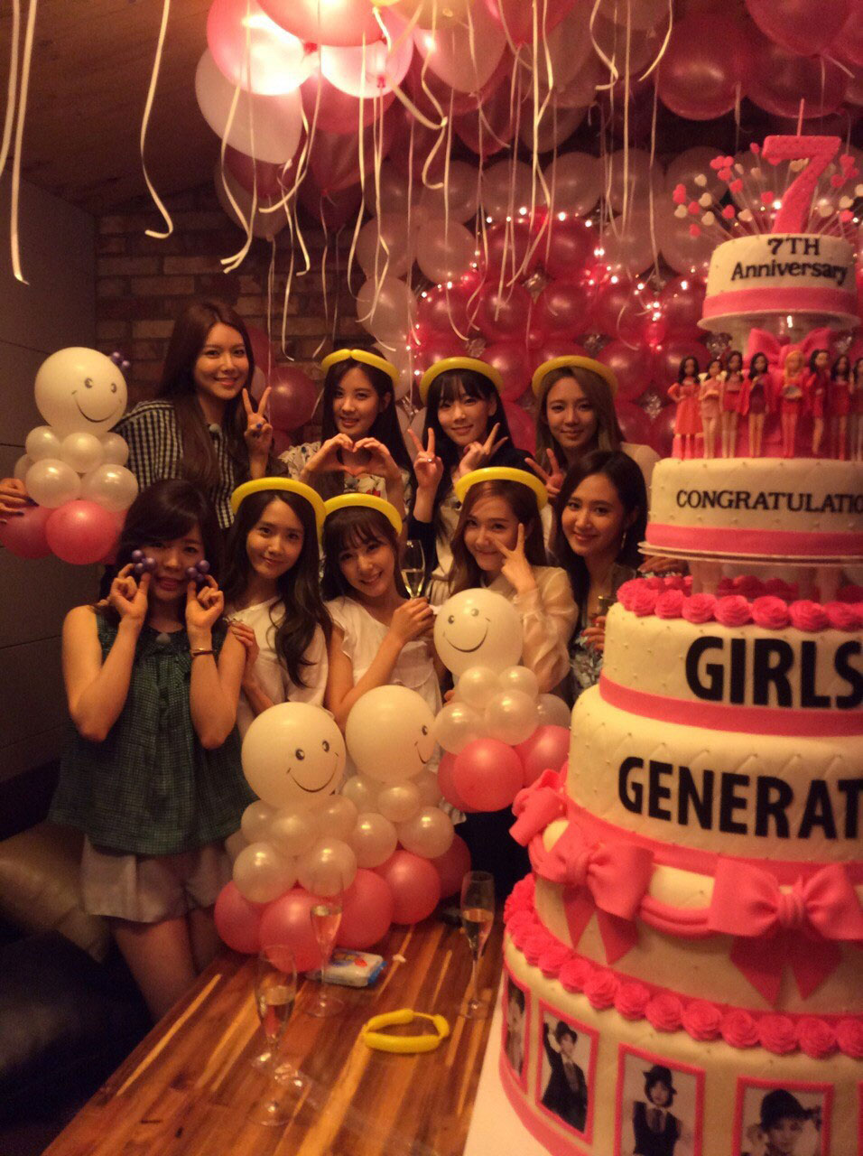 Girls Generation 7th anniversary party