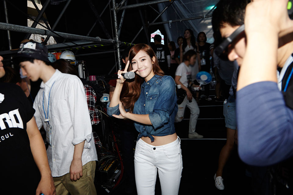 SNSD Jessica SMTOWN Live World Tour Seoul 2014