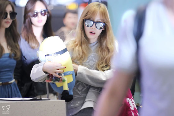 SNSD Taeyeon Incheon airport fashion 140812