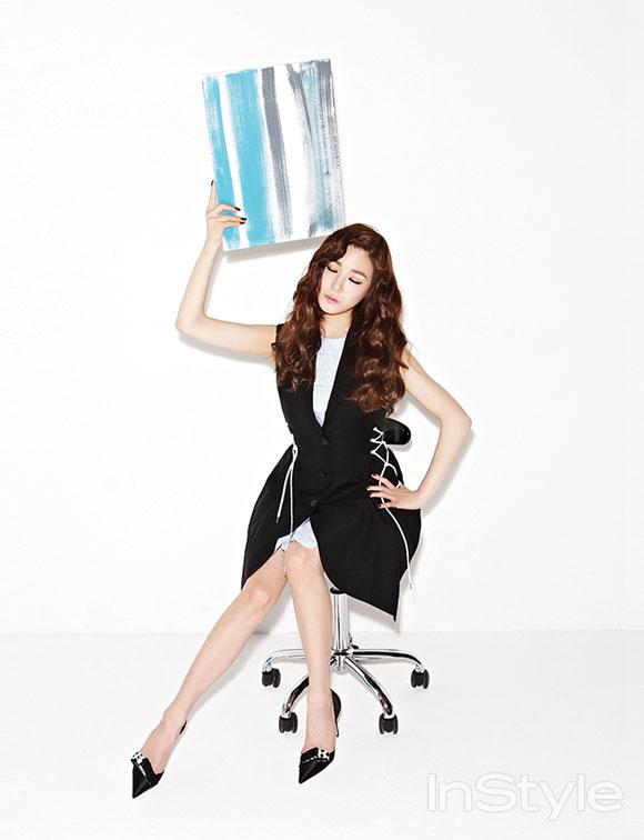 Tiffany InStyle Magazine Dior