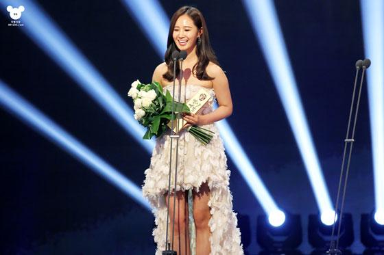 SNSD Yuri Baeksang Art Awards 2014