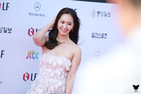 SNSD Yuri Baeksang Art Awards 2014