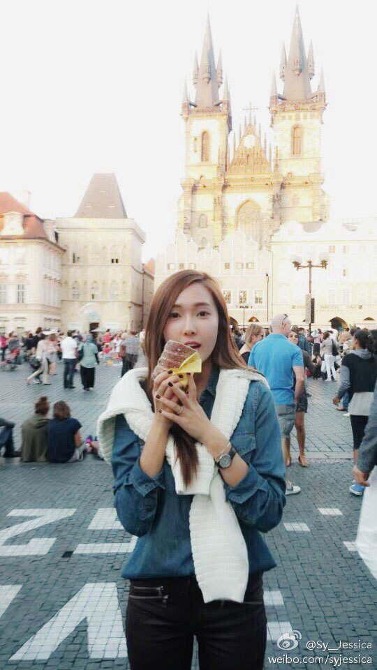 Girls Generation Jessica in Prague