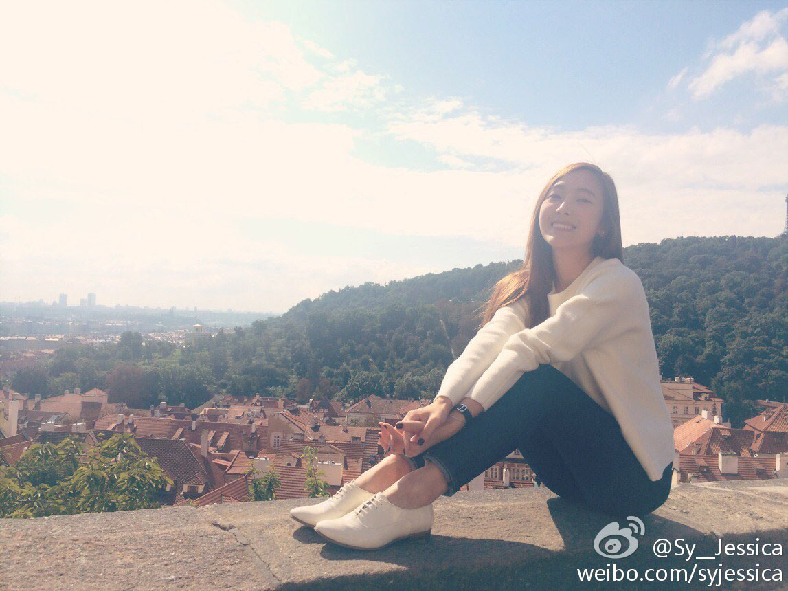 SNSD Jessica in Prague