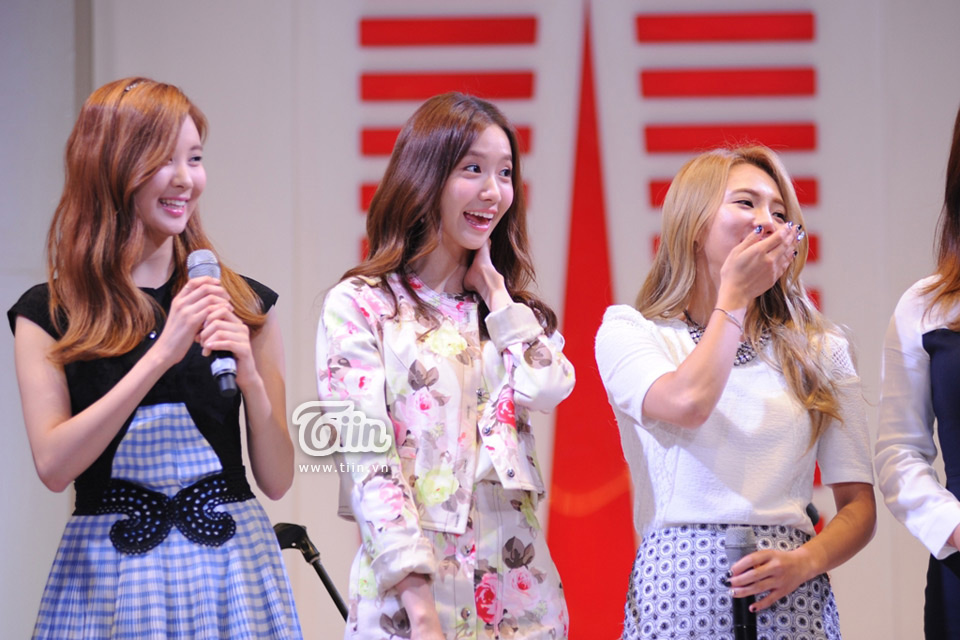 Girls Generation Lotte Department Store Vietnam opening