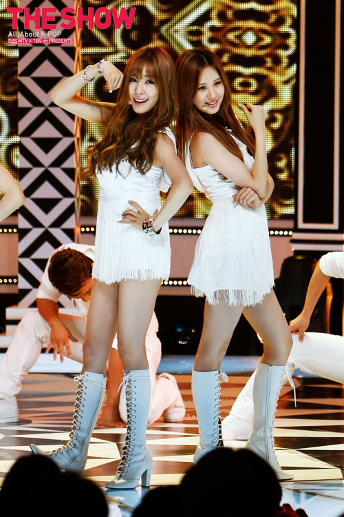 SNSD Seohyun Holler SBS MTV The Show