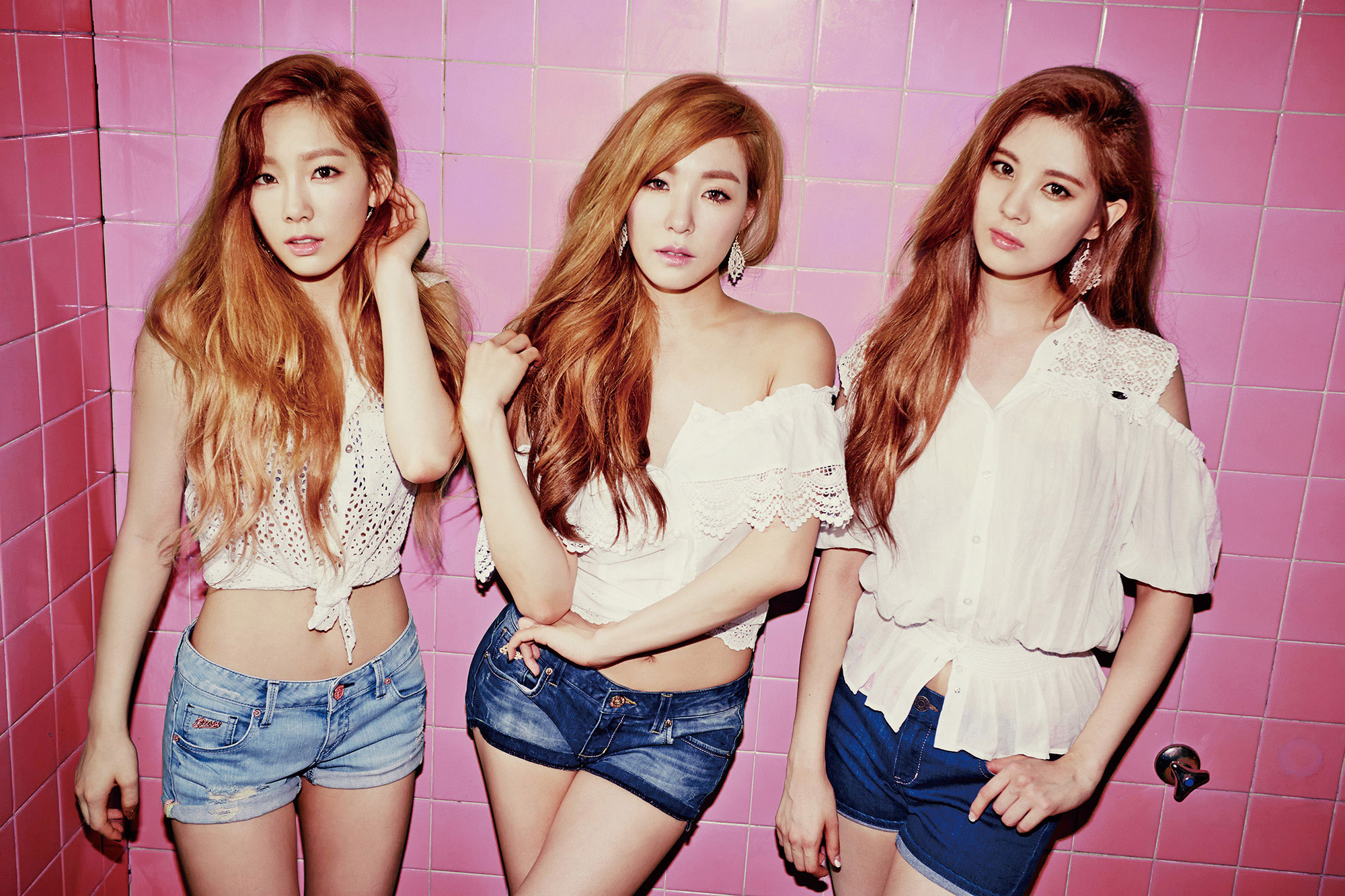 Girls Generation TTS Holler concept photos