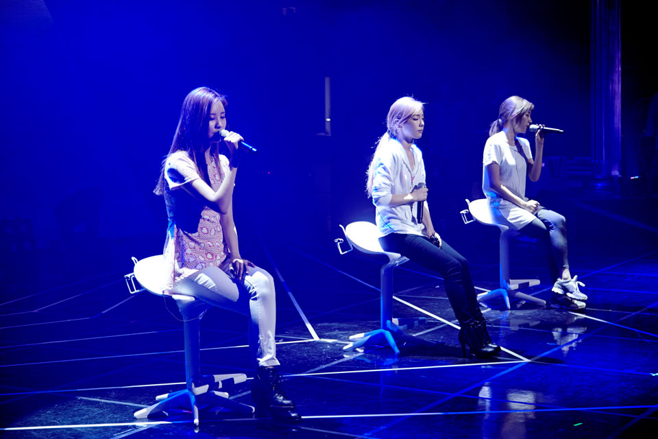 SNSD Taetiseo Holler showcase event