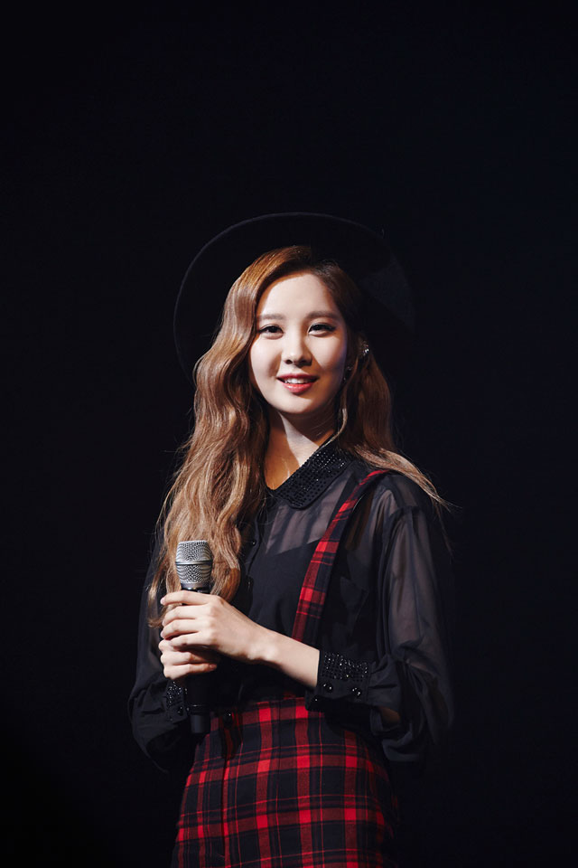 SNSD Seohyun Holler showcase event