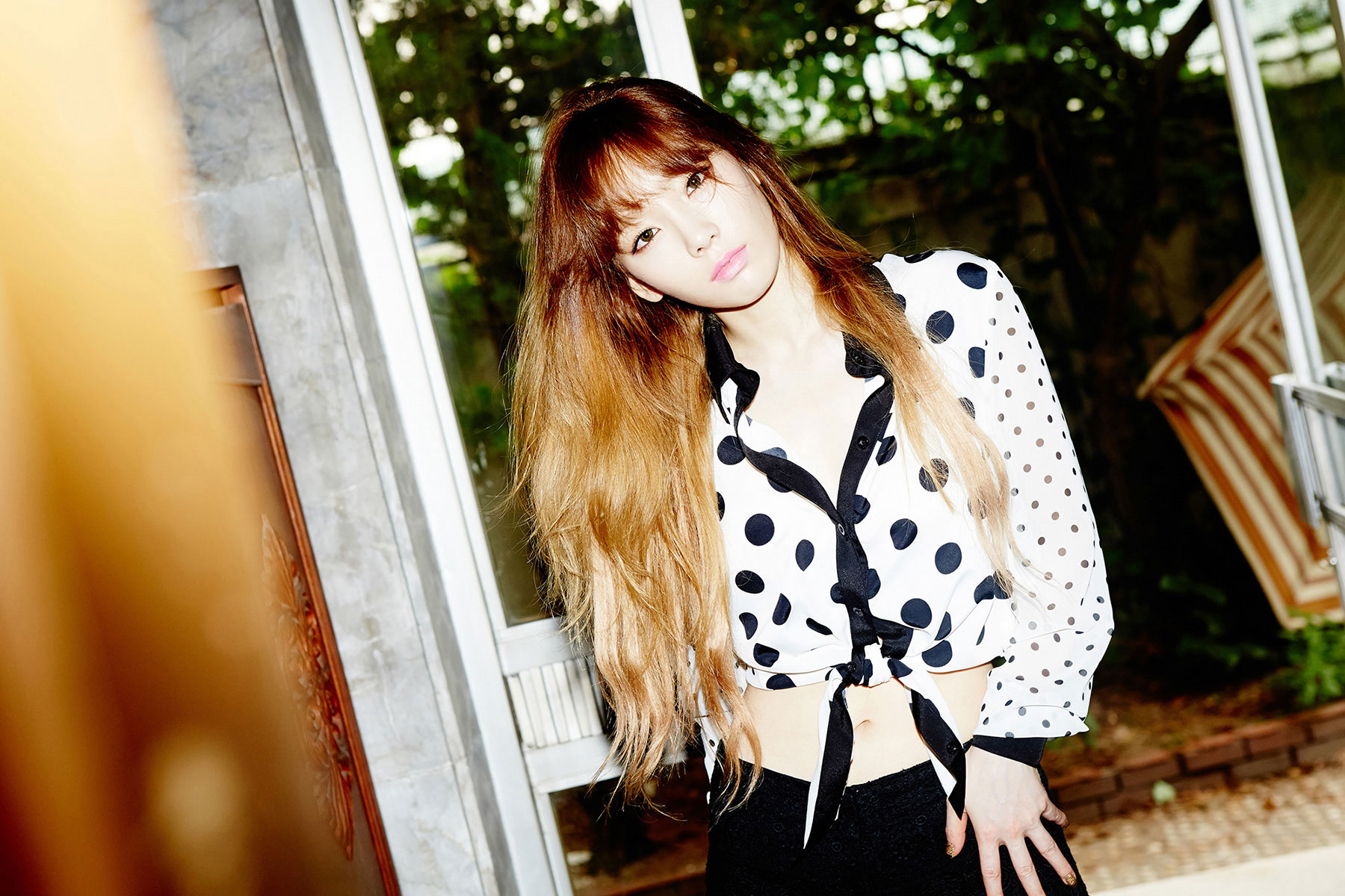 SNSD Taeyeon Holler concept photos