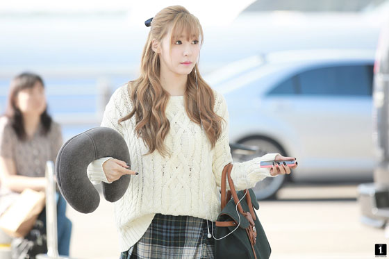 SNSD Tiffany Incheon Airport to New York