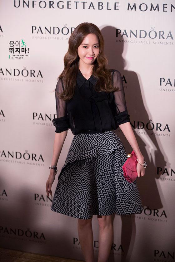 SNSD Yoona Pandora Gala Dinner Hong Kong