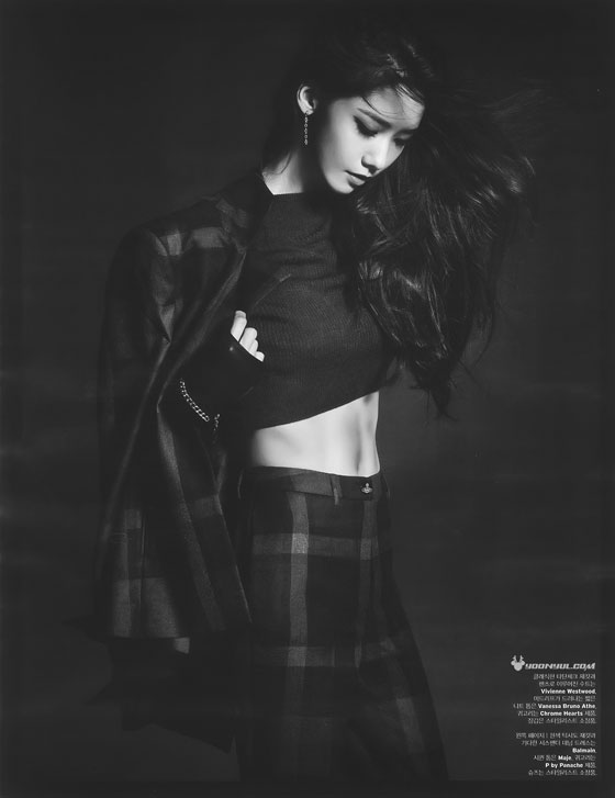 Girls Generation Yoona Korean W Magazine