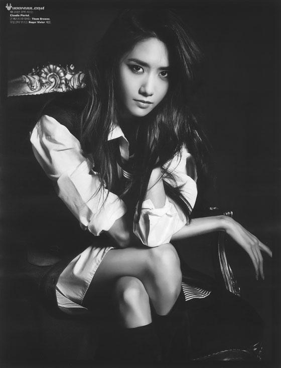 SNSD Yoona Korean W Magazine HD scans
