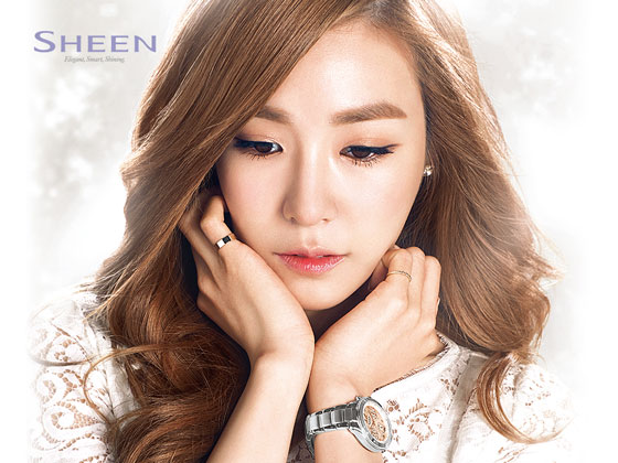 SNSD Tiffany Casio Sheen wallpaper 2014