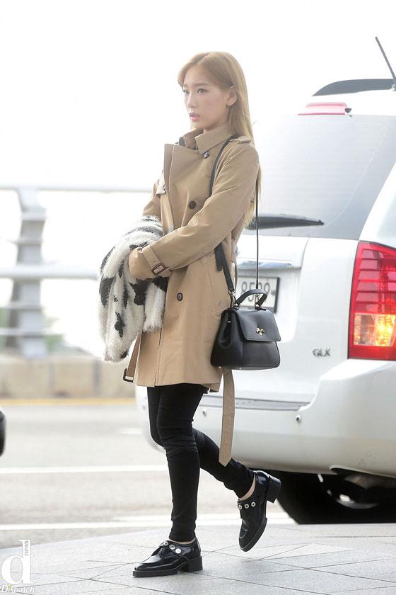 Girls Generation Taeyeon Incheon Airport to Shenzhen