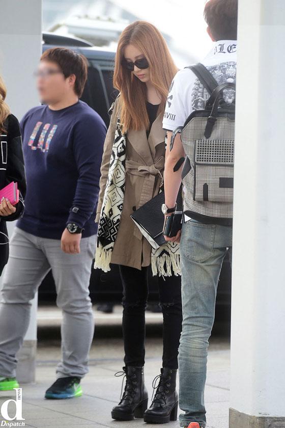 Girls Generation Seohyun Incheon Airport to Shenzhen
