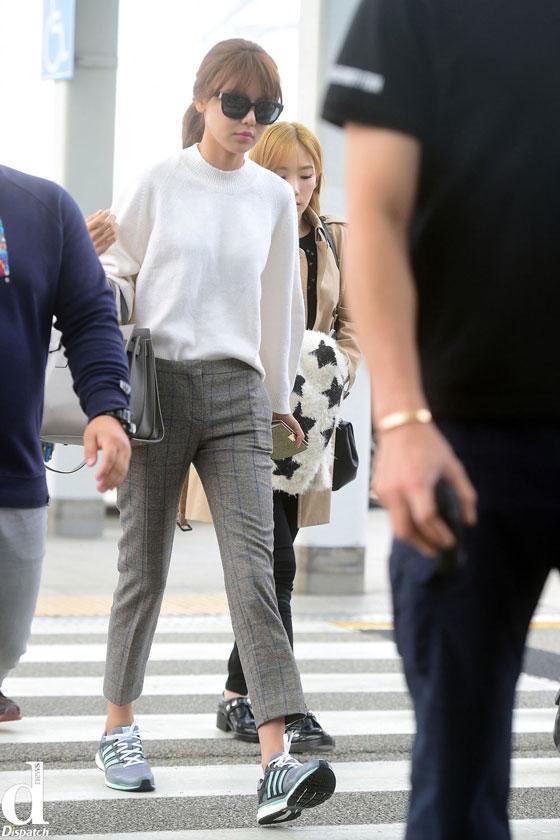 Girls Generation Sooyoung Incheon Airport to Shenzhen