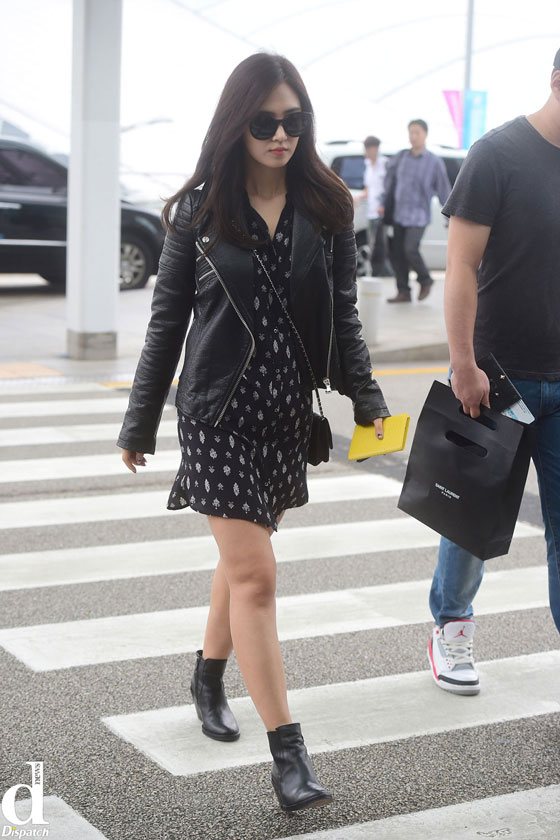 Girls Generation Yuri Incheon Airport to Shenzhen