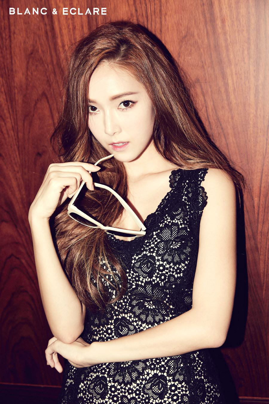 SNSD Jessica BLANC and ECLARE fashion brand