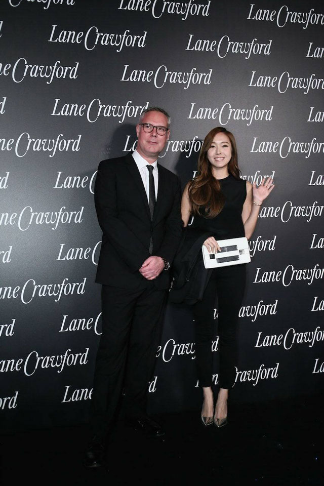 SNSD Jessica Lane Crawford Shanghai event