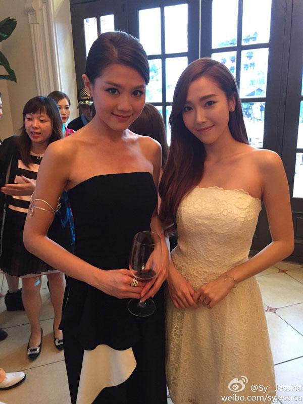 SNSD Jessica Chrissie Chau Mission Hills Haikou