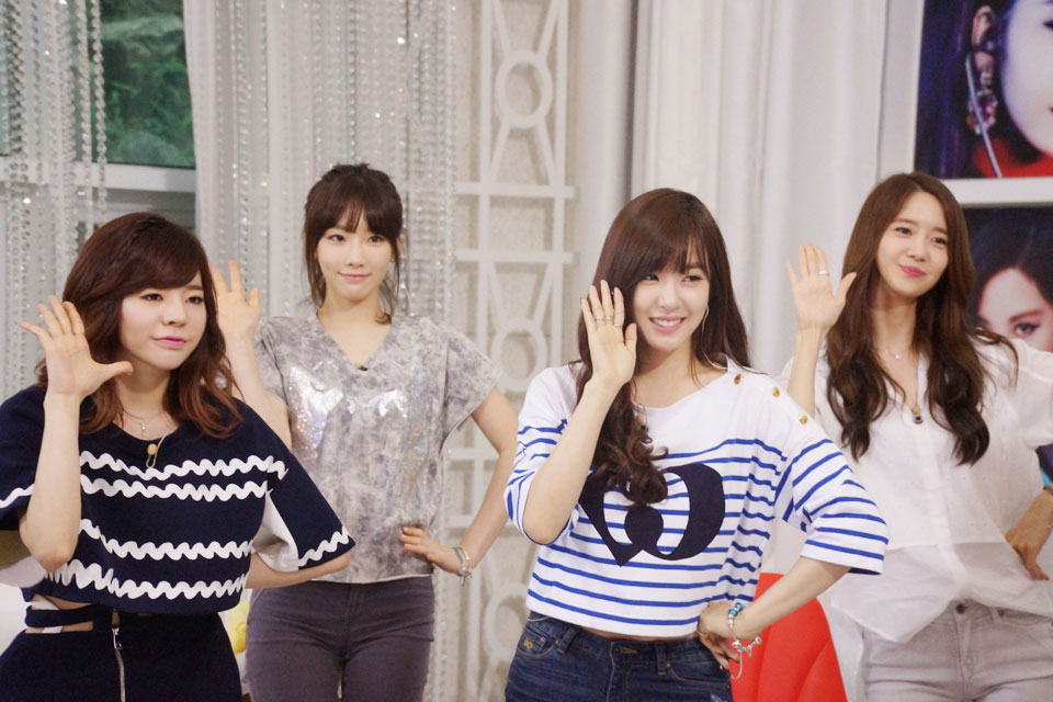 SNSD members The Ultimate Group TV show