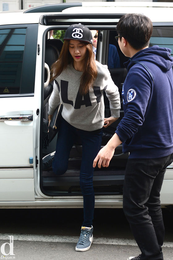 SNSD Yoona KBS Music Bank 140328