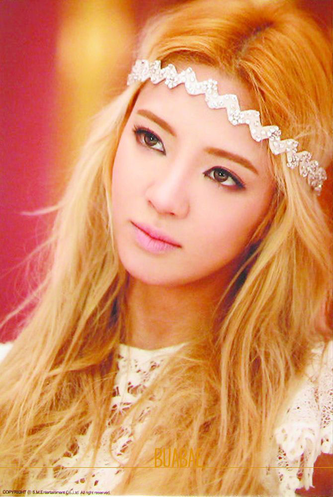 Girls Generation Hyoyeon MrMr star card