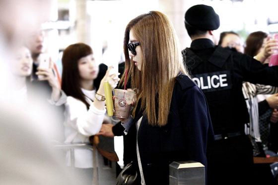 SNSD Seohyun Gimpo Airport fashion 141004