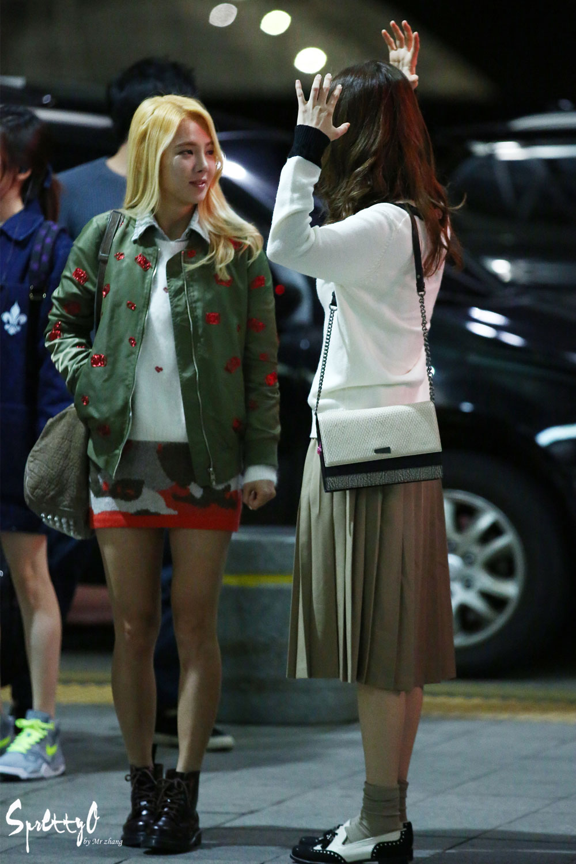 Seohyun Incheon Airport 141017-101019