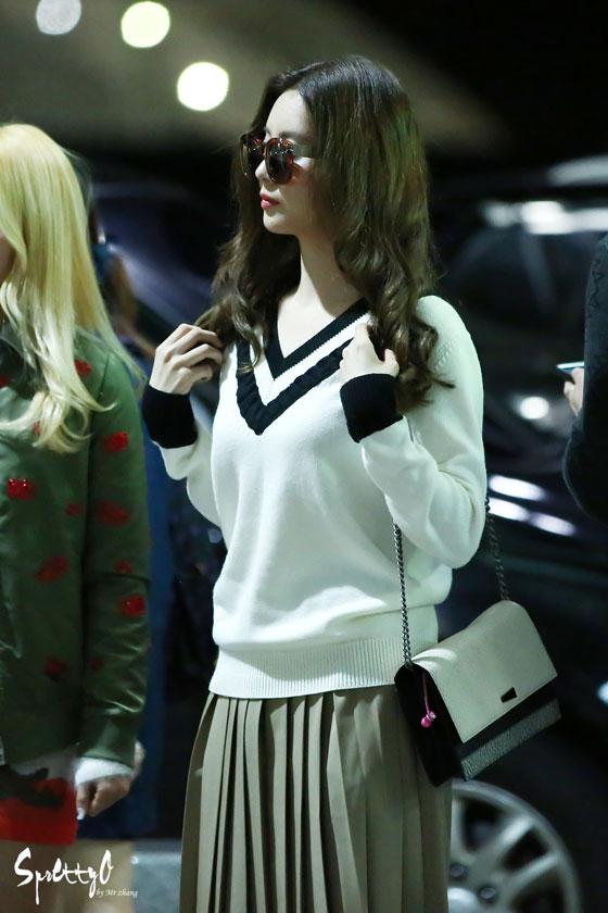 SNSD Seohyun Incheon airport fashion 141017