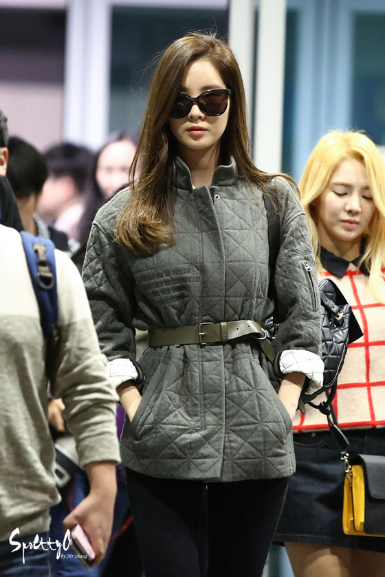SNSD Seohyun Incheon airport fashion 141019