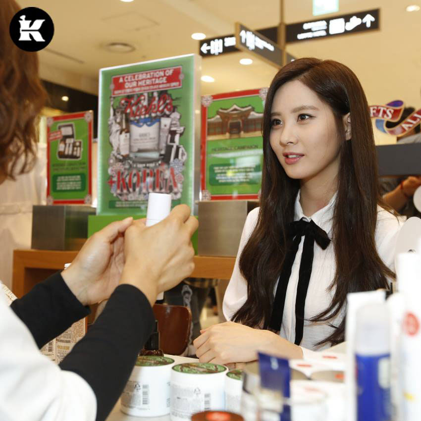 SNSD Seohyun Kiehls promotion event