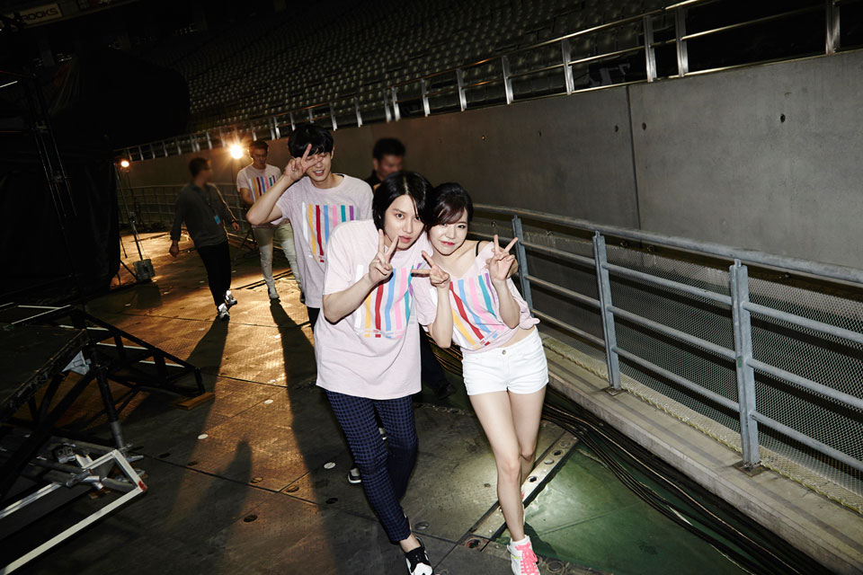 Heechul Sunny SMTOWN Live World Tour 2014 in Tokyo