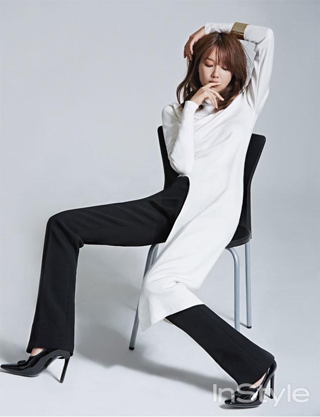 SNSD Sooyoung Balenciaga Korean Instyle Magazine