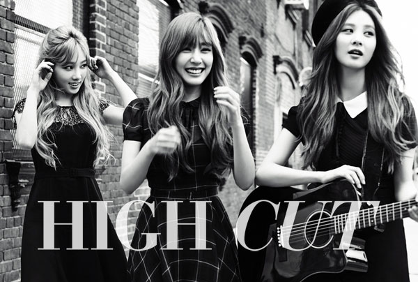 SNSD TaeTiSeo High Cut Magazine