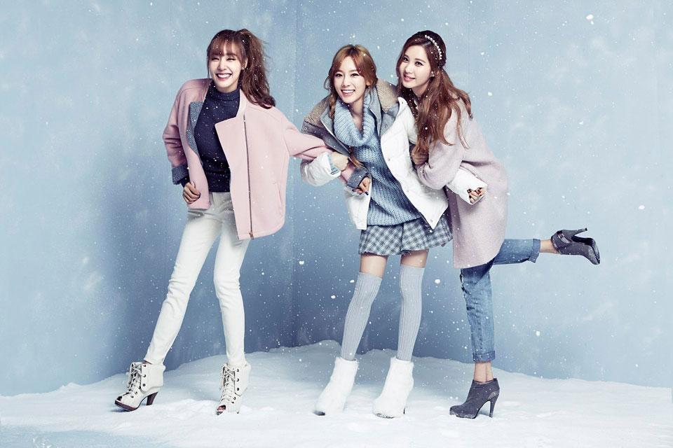 SNSD TaeTiSeo Mixxo Japan 2014 AW