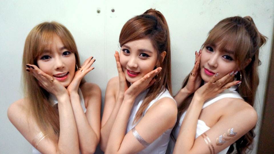 SNSD TaeTiSeo KBS Music Bank 140926