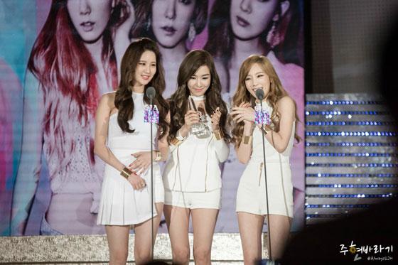 Girls Generation TTS Style Icon Awards 2014